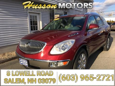 Used buick enclave for sale in new hampshire for Husson motors salem nh