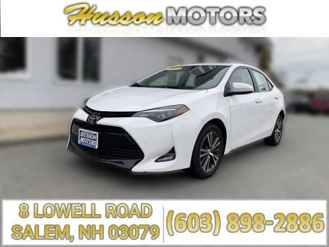 Toyota Salem Nh >> Toyota For Sale In Salem Nh Husson Motors Inc