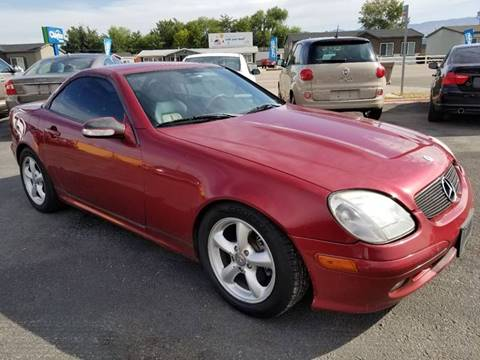 2002 Mercedes-Benz SLK for sale at Marvelous Motors in Garden City ID