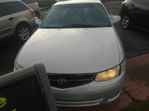 2000 Toyota Camry Solara for sale at Marvelous Motors in Garden City ID