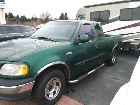 1999 Ford F-150 for sale at Marvelous Motors in Garden City ID