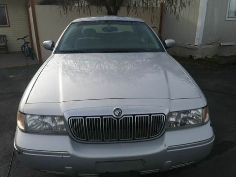 2000 Mercury Grand Marquis for sale at Marvelous Motors in Garden City ID