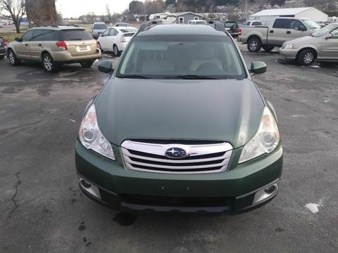 2010 Subaru Outback for sale at Marvelous Motors in Garden City ID