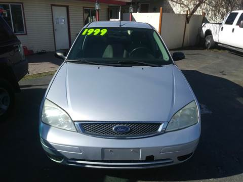 2006 Ford Focus for sale at Marvelous Motors in Garden City ID
