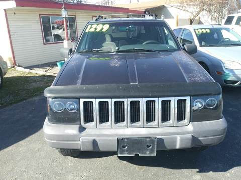 1996 Jeep Grand Cherokee for sale at Marvelous Motors in Garden City ID