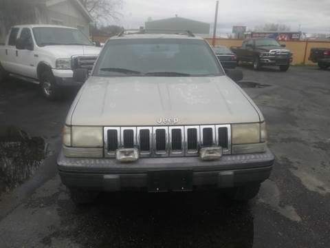 1995 Jeep Grand Cherokee for sale at Marvelous Motors in Garden City ID