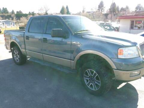 2005 Ford F-150 for sale at Marvelous Motors in Garden City ID