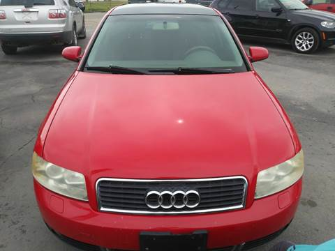 2004 Audi A4 for sale at Marvelous Motors in Garden City ID