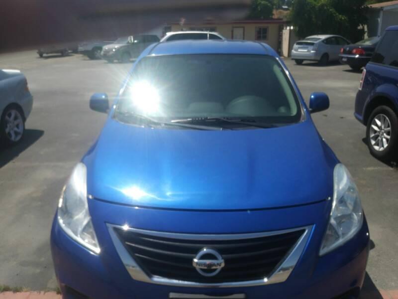 2014 Nissan Versa for sale at Marvelous Motors in Garden City ID