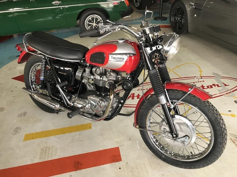 1970 Triumph T120R BONNEVILLE 2