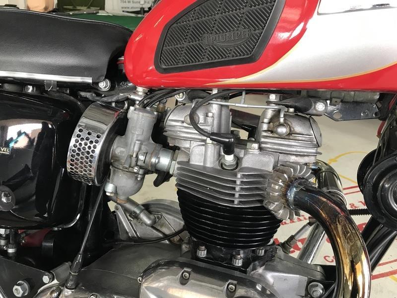 1970 Triumph T120R BONNEVILLE 6