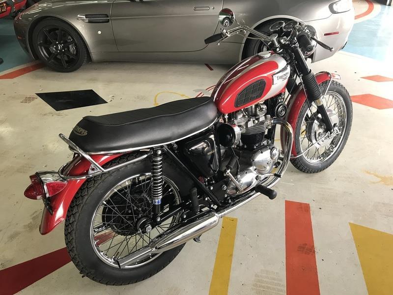 1970 Triumph T120R BONNEVILLE 3