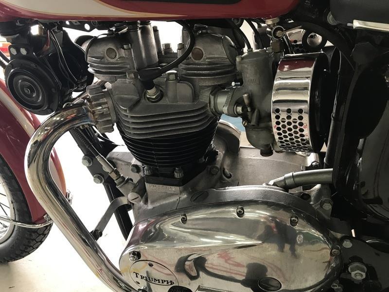 1970 Triumph T120R BONNEVILLE 12