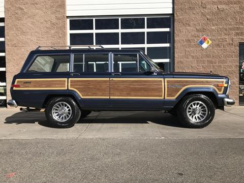 1990 Jeep Grand Wagoneer for sale in Henderson, NV