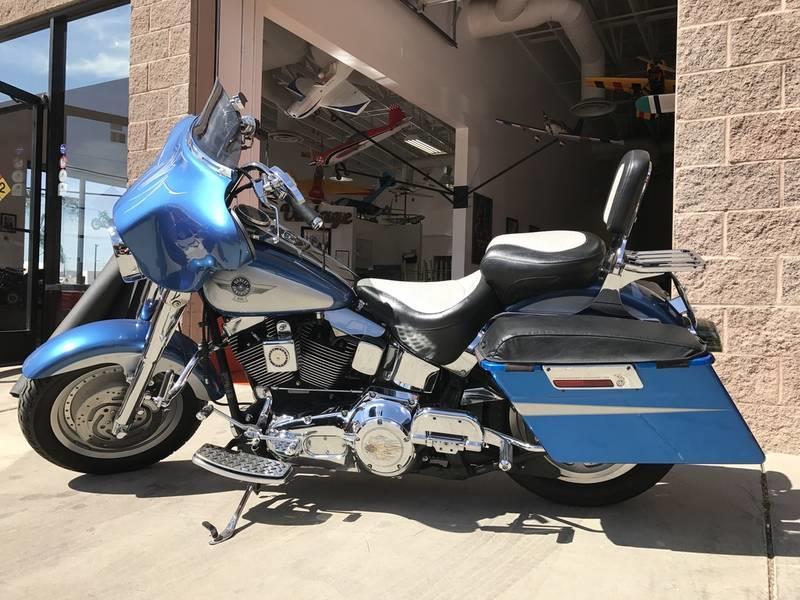 2005 Harley Davidson FAT BOY FLSTFI For Sale