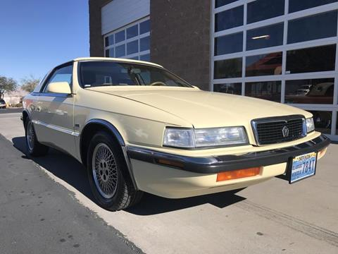 1989 Chrysler TC for sale in Henderson, NV