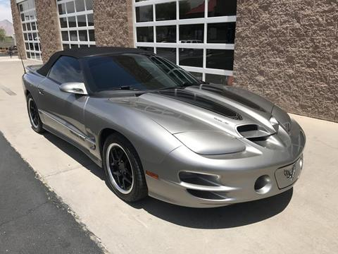 2002 Pontiac Firebird for sale in Henderson, NV