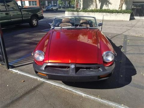1980 MG MGB for sale in Woodland Hills, CA
