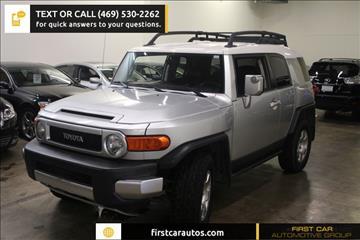 2007 Toyota FJ Cruiser for sale in Plano, TX