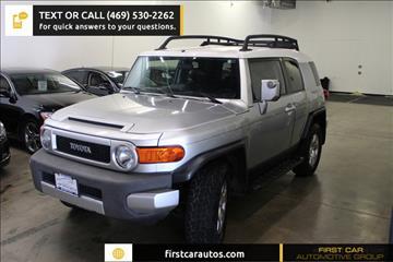 2008 Toyota FJ Cruiser for sale in Plano, TX