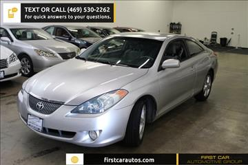 2005 Toyota Camry Solara for sale in Plano, TX