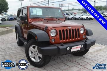 2014 Jeep Wrangler for sale in Marion, IL
