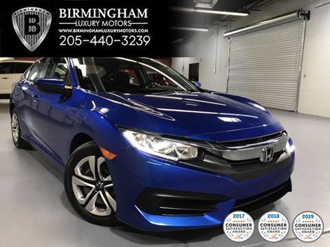 2016 Honda Civic for sale in Hoover, AL