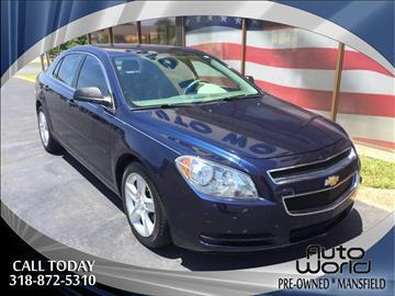 2012 Chevrolet Malibu for sale in Mansfield, LA