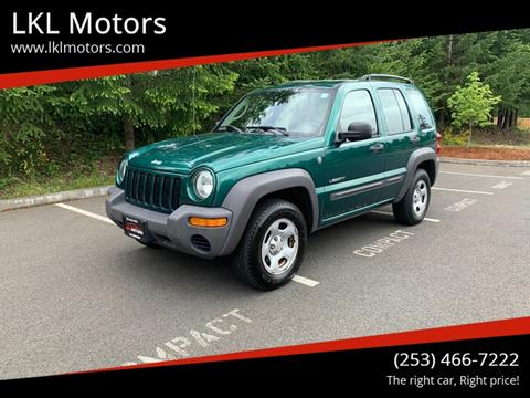 2004 Jeep Liberty for sale in Puyallup, WA