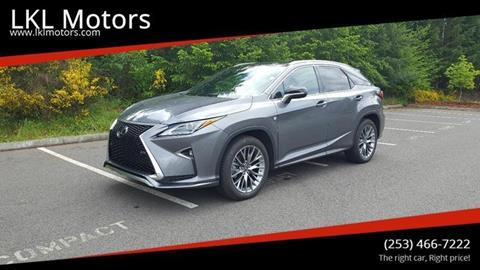 2016 Lexus RX 350 for sale in Puyallup, WA