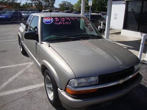 2001 Chevrolet S-10 for sale in Sarasota, FL