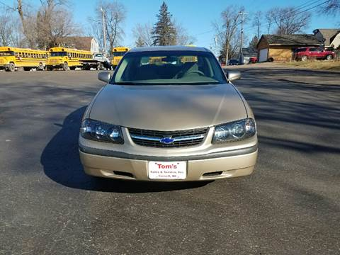 2004 Chevrolet Impala for sale in Cornell, WI