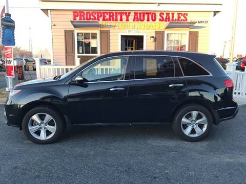 2011 Acura MDX for sale in Fredericksburg VA