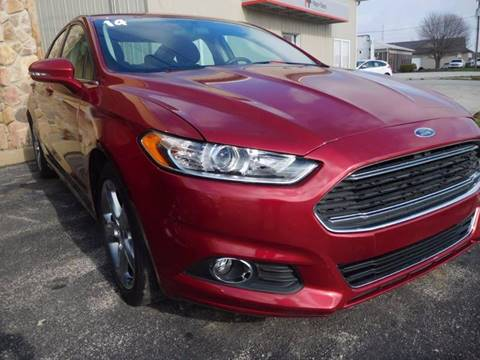 2014 Ford Fusion for sale in Lafayette, IN