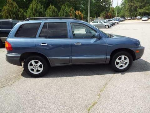 2001 Hyundai Santa Fe for sale in Wendell, NC