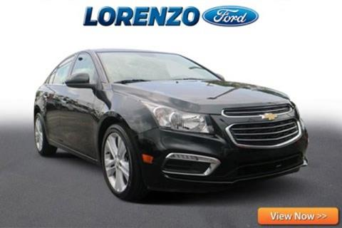 2016 Chevrolet Cruze Limited for sale in Homestead, FL