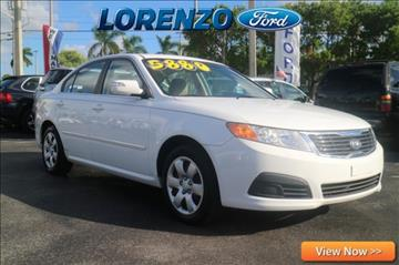 2009 Kia Optima for sale in Homestead, FL