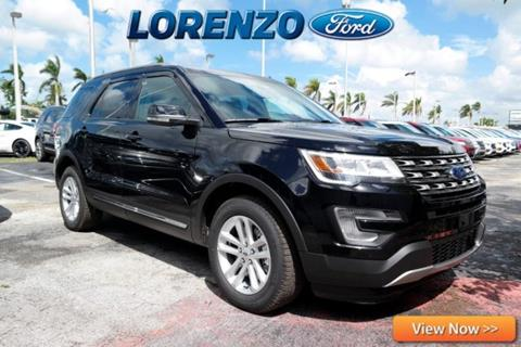 2017 Ford Explorer for sale in Homestead, FL