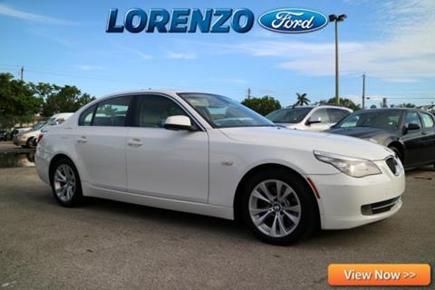 2010 BMW 5 Series for sale in Homestead, FL