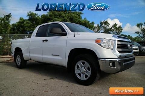 2014 Toyota Tundra for sale in Homestead, FL