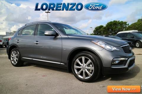 2016 Infiniti QX50 for sale in Homestead, FL