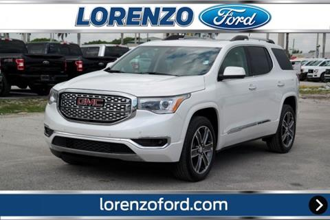 2019 GMC Acadia for sale in Homestead, FL