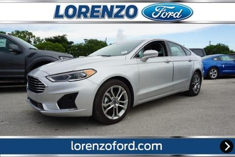 2019 Ford Fusion for sale in Homestead, FL