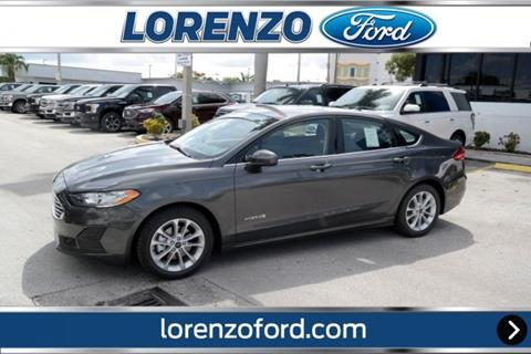 2019 Ford Fusion Hybrid for sale in Homestead, FL