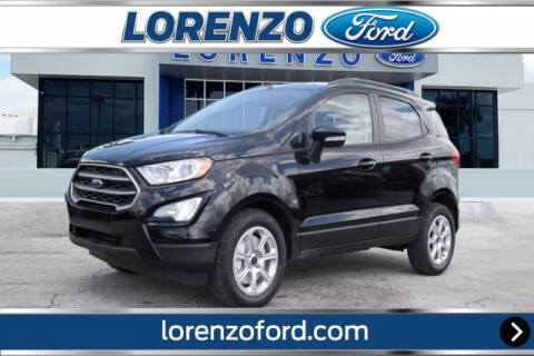 2019 Ford EcoSport for sale at Lorenzo Ford in Homestead FL