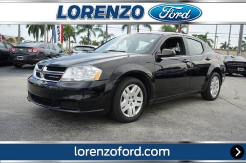 2012 Dodge Avenger for sale in Homestead, FL