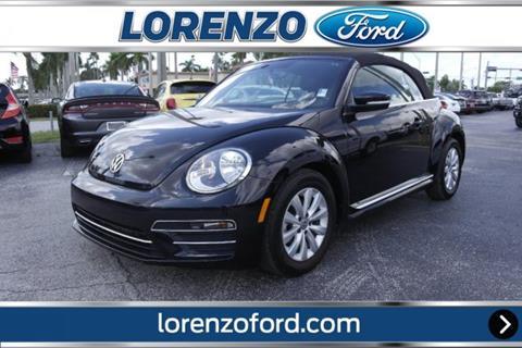 2019 Volkswagen Beetle for sale in Homestead, FL