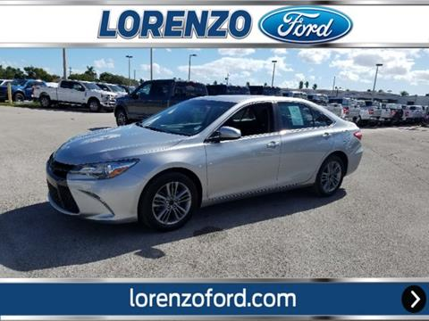 2017 Toyota Camry for sale in Homestead, FL