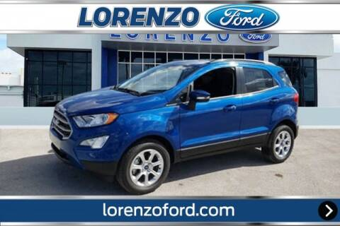 2020 Ford EcoSport for sale at Lorenzo Ford in Homestead FL