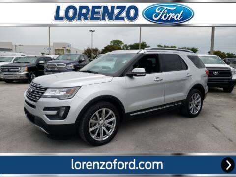 2016 Ford Explorer Limited for sale at Lorenzo Ford in Homestead FL